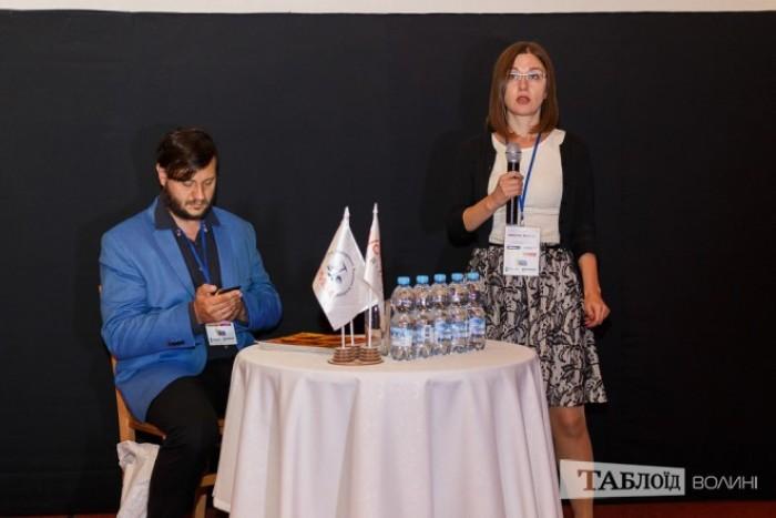 Журналістка видання «Новое время» Катерина Шаповал
