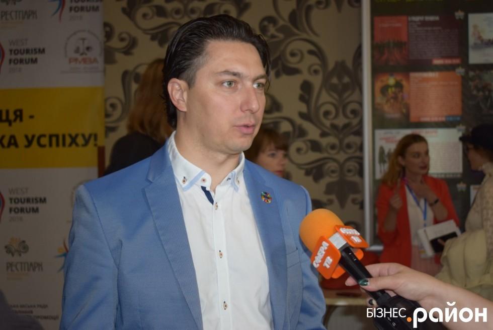 Президент національної туристичної організації України Іван Ліптуга приїхав з Одеси