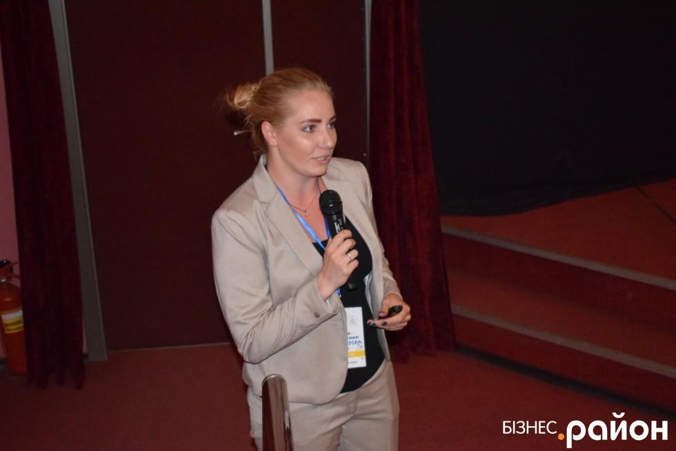 Маркетинг-менеджерка закладу «Ротонда beaсh club» Поліна Хорзова
