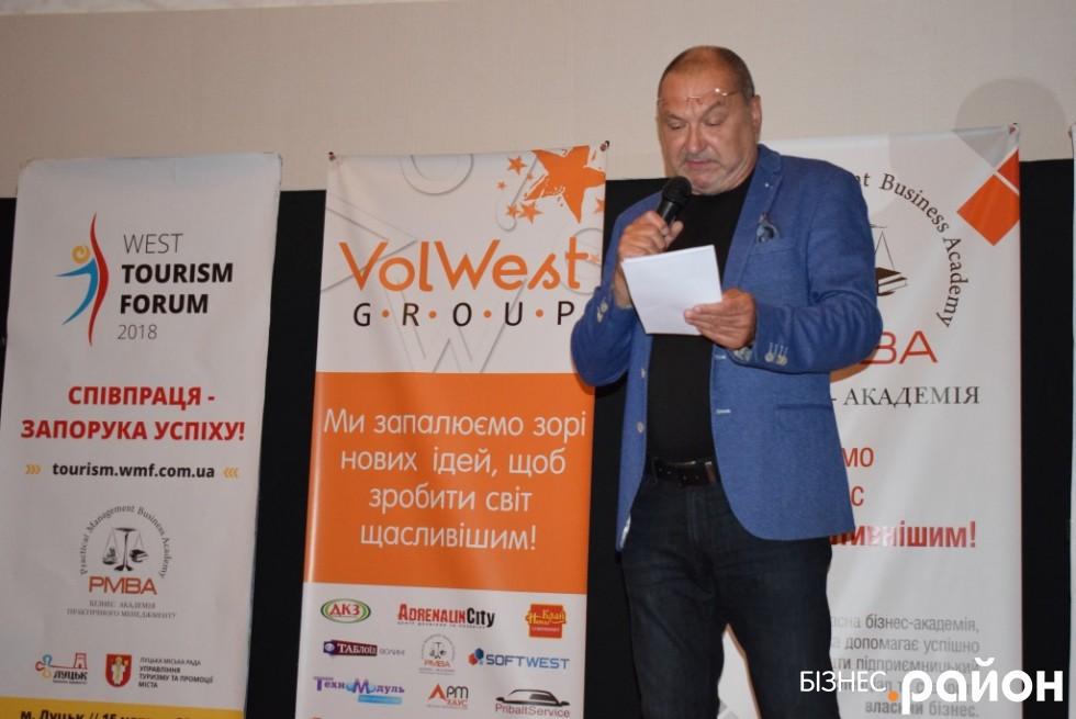 Власник ресторану «Корона Вітовта» Олег Іванюк